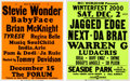 Music Memorabilia:Posters, R&B - Stevie Wonder/Baby Face/Warren G/Ludacris - TwoR&B/Hip Hop Concert Posters (2001).... (Total: 2 Items)