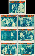 "Movie Posters:War, Escape in the Desert (Warner Brothers, 1945). Lobby Cards (7) (11""X 14""). War.. ... (Total: 7 Items)"