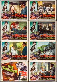 "The Fugitive (RKO, 1947). Lobby Card Set of 8 (11"" X 14""). Drama. ... (Total: 8 Items)"