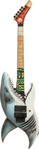 Musical Instruments:Electric Guitars, Mark Kendall/ Great White stage used BC Rich Guitar (1989)....