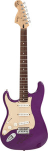 Musical Instruments:Electric Guitars, Dick Dale Signed Fender Squier Telecaster....