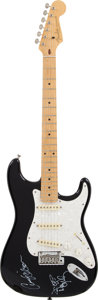Musical Instruments:Electric Guitars, Anne and Nancy Wilson Signed Fender Stratocaster Guitar....