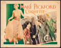 "Movie Posters:Drama, Coquette (United Artists, 1929). Lobby Card (11"" X 14""). Drama.. ..."