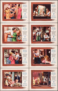 "Movie Posters:Drama, A Streetcar Named Desire (Warner Brothers, 1951). Lobby Card Set of8 (11"" X 14""). Drama.. ... (Total: 8 Items)"