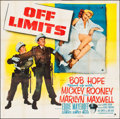 "Movie Posters:Comedy, Off Limits (Paramount, 1953). Six Sheet (81"" X 81""). Comedy.. ..."