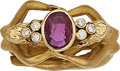 Estate Jewelry:Rings, Ruby, Diamond, Gold Ring, Carrera y Carrera. ...