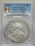 China, China: Republic Yuan Year 9 (1920) XF Details (Tooled) PCGS,...