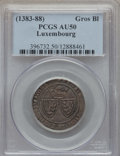 Luxembourg, Luxembourg: Wenceslas II (1383-1419) Blanc Gros 1383-1384 AU50PCGS,...