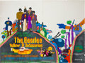 Music Memorabilia:Posters, Beatles Yellow Submarine UK Quad Movie Poster (King FeaturesSubafilms/United Artists, 1968)....