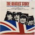 Music Memorabilia:Recordings, The Beatles' Story Sealed Original Mono Double LP (CapitolTBO2222, 1964)....