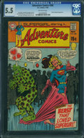 Silver Age (1956-1969):Superhero, Adventure Comics #386 (DC, 1969) CGC FN- 5.5 OFF-WHITE pages.