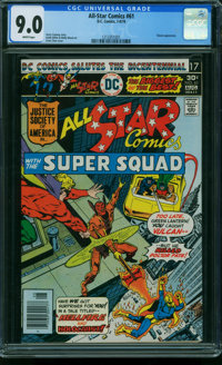 All Star Comics #61 (DC, 1976) CGC VF/NM 9.0 White pages