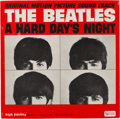Music Memorabilia:Recordings, Beatles A Hard Day's Night Sealed Mono LP (United ArtistsUAL 3366, 1964)....