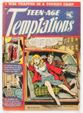 Golden Age (1938-1955):Romance, Teen-Age Temptations #1 (St. John, 1952) Condition: VG-....