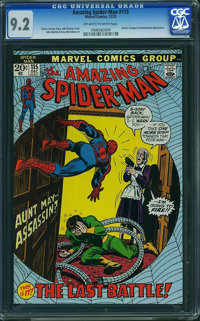 The Amazing Spider-Man #115 (Marvel, 1972) CGC NM- 9.2 OFF-WHITE TO WHITE pages
