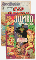Golden Age (1938-1955):Miscellaneous, Comic Books - Assorted Golden Age Comics Group of 2 (Various Publishers, 1947-52).... (Total: 2 Comic Books)