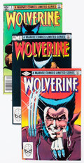 Modern Age (1980-Present):Superhero, Wolverine #1, 3, and 4 Group (Marvel, 1982) Condition: AverageFN/VF.... (Total: 7 Comic Books)