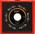 "Music Memorabilia:Recordings, Beatles (""Beattles"") ""Please Please Me / Ask Me Why"" Oval LogoLabel 45 with Original Sleeve (Vee-Jay 498, 1963)...."