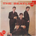 """Music Memorabilia:Recordings, Introducing The Beatles First Issue, Version One """"Ad Back""""Mono LP in Original Sears Sleeve (Vee-Jay LP1062, 1964). ..."""