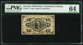 Fractional Currency:Third Issue, Fr. 1251 10¢ Third Issue PMG Choice Uncirculated 64.. ...