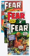 Bronze Age (1970-1979):Horror, Fear #1-4 Group (Marvel, 1970-71) Condition: Average FN/VF....(Total: 4 Comic Books)