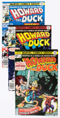 Bronze Age (1970-1979):Humor, Howard the Duck Group of 26 (Marvel, 1979-85) Condition: AverageVF-.... (Total: 26 Comic Books)