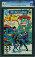 Modern Age (1980-Present):Superhero, The Brave and the Bold #192 (DC, 1982) CGC NM+ 9.6 OFF-WHITE TO WHITE pages.
