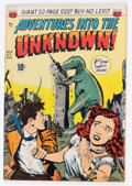 Golden Age (1938-1955):Horror, Adventures Into The Unknown #13 (ACG, 1950) Condition: FN/VF....