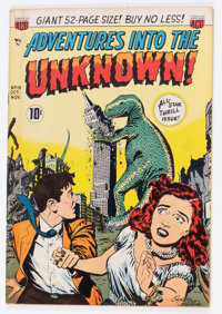 Adventures Into The Unknown #13 (ACG, 1950) Condition: FN/VF