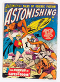 Golden Age (1938-1955):Science Fiction, Astonishing #5 (Atlas, 1951) Condition: GD+....