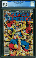 Modern Age (1980-Present):Superhero, Captain America #276 (Marvel, 1982) CGC NM+ 9.6 WHITE pages.