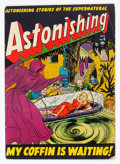 Golden Age (1938-1955):Horror, Astonishing #6 (Atlas, 1951) Condition: VG....