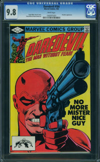 Daredevil #184 (Marvel, 1982) CGC NM/MT 9.8 WHITE pages