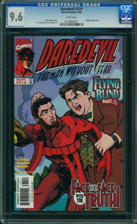 Daredevil #379 (Marvel, 1998) CGC NM+ 9.6 White pages