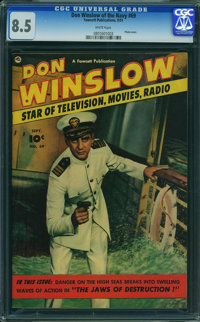Don Winslow of the Navy #69 (Fawcett Publications, 1951) CGC VF+ 8.5 WHITE pages