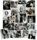 "Movie/TV Memorabilia:Photos, A Massive Collection of Black and White Stills and Photographs from ""Gone With The Wind,"" 1939-1970s...."