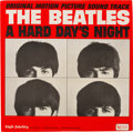 Music Memorabilia:Recordings, Beatles A Hard Day's Night Mono White Label Promo LP (United Artists UAL 3366, 1964)....