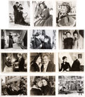 "Movie/TV Memorabilia:Photos, A Large Collection of Black and White Stills from VariousRe-Releases of ""Gone With The Wind,"" 1940s-1960s...."