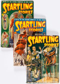 Pulps:Science Fiction, Startling Stories Group of 5 (Standard, 1940-50) Condition: AverageVG.... (Total: 5 Items)