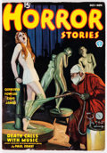 Pulps:Horror, Horror Stories - October-November 1936 (Popular) Condition: FN+....