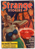 Pulps:Horror, Strange Stories - February 1939 (Better Publications) Condition:GD/VG....