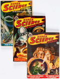 Pulps:Science Fiction, Assorted Science Fiction Pulps Group of 12 (Various, 1938-51)Condition: Average GD/VG.... (Total: 12 Items)