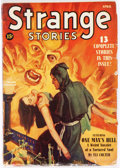 Pulps:Horror, Strange Stories - April 1940 (Better Publications) Condition:GD/VG....