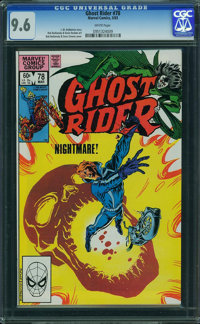 Ghost Rider #78 (Marvel, 1983) CGC NM+ 9.6 WHITE pages