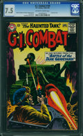 Silver Age (1956-1969):War, G.I. Combat #109 (Quality, 1965) CGC VF- 7.5 OFF-WHITE TO WHITE pages.