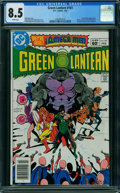 Modern Age (1980-Present):Superhero, Green Lantern #161 (DC, 1983) CGC VF+ 8.5 WHITE pages.