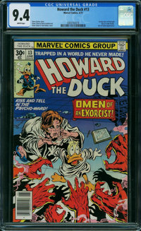 Howard the Duck #13 (Marvel, 1977) CGC NM 9.4 WHITE pages