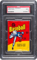 Baseball Cards:Unopened Packs/Display Boxes, 1975 O-Pee-Chee 10-Cent Unopened Wax Pack PSA Mint 9....