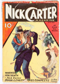 Pulps:Detective, Nick Carter Magazine V1#1 (Street & Smith, 1933) Condition:GD-....