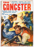 Pulps:Detective, True Gangster Stories V1#1 (Columbia, 1942) Condition: VG....